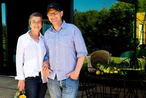 Jackie Grant and Scott Brown. Photo / Babiche Martens