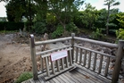 The Fukuoka Friendship Garden at the zoo has been demolished. Photo / Sarah Ivey