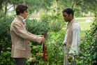 Benedict Cumberbatch and Chiwetel Ejiofor in 12 Years A Slave. Photo / AP