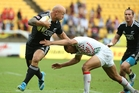 New Zealand was well served by stalwart DJ Forbes in the Wellington Sevens. Photo / Getty Images