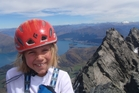 Sarah Schreiber and her father Frank scaled Single Cone, the highest point of The Remarkables. Photo / Mountain Scene
