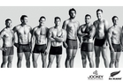 New models from the All Blacks and All Blacks Sevens include (from left) Sherwin Stowers, Ben Smith, Tawera Kerr-Barlow, Gillies Kaka, Sam Whitelock, Liam Messam, Luke Romano, Tom Taylor and Tim Mikkelson.