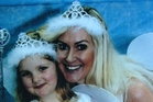 Fiona Gooder and her daughter Arly, 8.