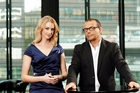 Paul Henry and newsreader Janika ter Ellen are enjoying good ratings.