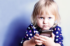 By the age of 3-5, more children are able to navigate a smartphone. Photo / Thinkstock