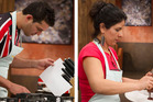 Thiago de Almeida Schalch and Janaina Mendes have become the first duo eliminated from MasterChef.