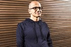 Many think Nadella needs to focus on catering for businesses to regain momentum. Photo / AFP