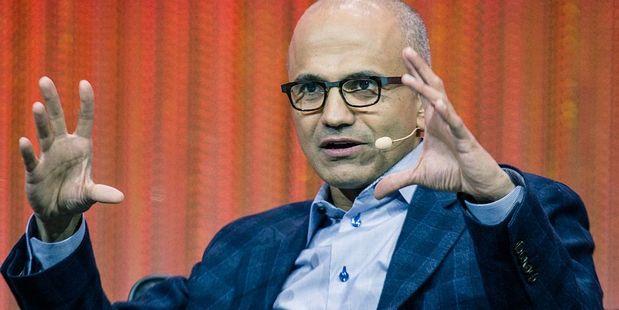 Incoming Microsoft chief executive Satya Nadella. Photo / Wikipedia Commons - Le Web Photos
