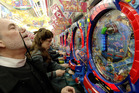 Pachinko is estimated to be worth $280 billion annually to the Japanese economy. Photo / Getty Images