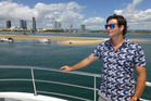 Clarke Gayford takes a Sea World cruise.