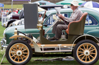 Barry Roberts doesn't drive his 1908 single-cylinder 6hp 780cc Rover often. Photo / Richard Robinson