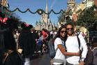 Janak Patel and Nalisha Patel during their travels around the world.