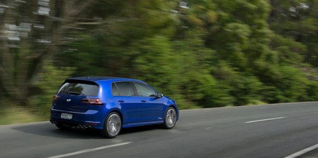 VW Golf R Pictures / Ted Baghurst