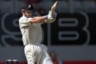Kane Williamson in action against India. Photo / Brett Phibbs