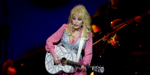 Dolly Parton live in concert at Vector Arena. Photo / Sarah Ivey