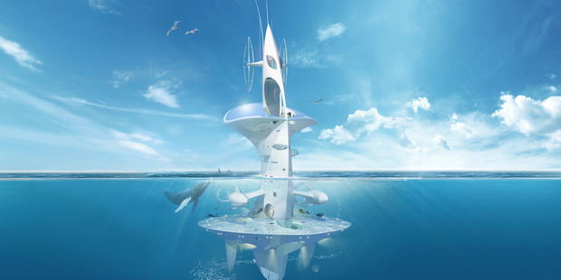 SeaOrbiter is set up for explorers to focus on birds and climate or the depths.