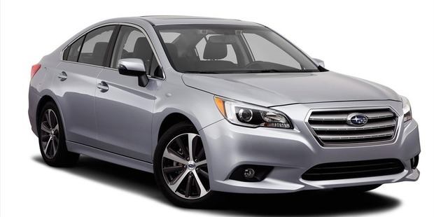 Images of the 2015 Subaru Legacy have been leaked online.