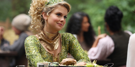 Rose McIver playing the role of Tinker Bell in 'Once Upon A Time'. Photo / ABC