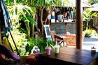 The Secret Garden cafe in Waihi. Photo / Babiche Martens