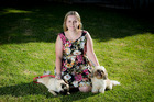 Casey Jenkins found her Petplan policy has paid off for her two dogs. Photo / Michael Craig