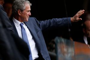 Former U.S. President George W. Bush. Photo / AP