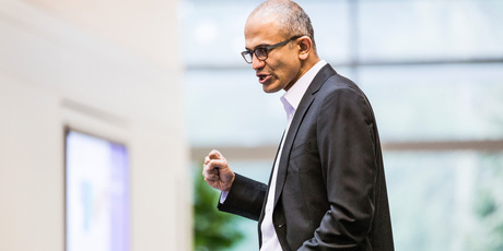 Nadella will replace Steve Ballmer as its new CEO. Nadella will become only the third leader in the software giant's 38-year history, after founder Bill Gates and Ballmer.