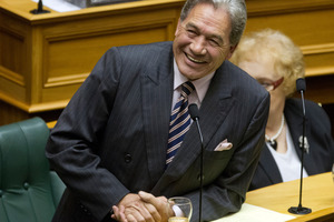 NZ First leader Winston Peters could be playing power broker again. Photo / Mark Mitchell