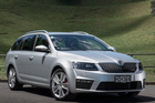 The Skoda Octavia RS wagon is a wonderfully complete package.Pictures / Ted Baghurst
