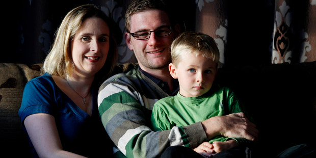 Linda Barlow, with husband Robert and son Orry, wants lessons to be learned from her case. Photo / Christine Cornege