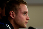 England Twenty20 cricket team captain Stuart Broad. Photo / Brett Phibbs