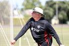 Indian coach Duncan Fletcher. Photo / Paul Taylor