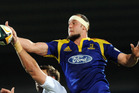 Hayden Triggs in action for the Highlanders in 2009. File photo / APN