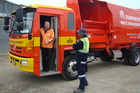 Transpacific Waste Management has more than 200,000 customers and 800 trucks. Photo / The Oamaru Mail