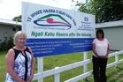 Graduate nurse Robyn Wickham (left) with Ngati Kahu Hauora practice manager Judy Harpur.