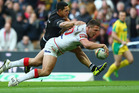 Sam Burgess of England. Photo / Getty Images