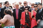 Governor-General Sir Jerry Mateparae says he was unaware someone had called for his head to be cut off as he was accompanied on to Te Tii Marae by Titewhai Harawira yesterday. Photo / Getty Image