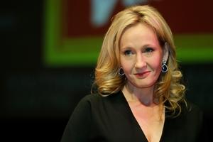 J.K. Rowling. Photo / AP