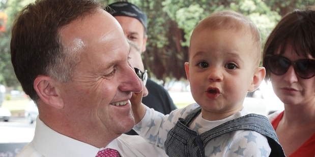 John Key. Photo / Greg Bowker