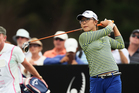 Lydia Ko with a drive during the final round of the New Zealand Open. Photo / Getty Images