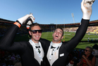 New Zealand's biggest sporting party kicks off in Wellington today as the IRB Sevens tournament gets underway.  Photo / Getty Images.