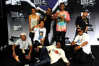 Odd Future have been barred from performing in New Zealand for a second time. Photo / AP