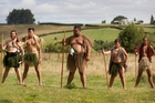 Maori re-enact the battle at Waiari, which was  meant to be only a skirmish.  Photo / Christine Cornege