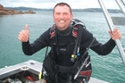 Bruce Porter was killed by a boat propeller while diving at the Poor Knights. Photo/Supplied