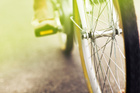 Biking is four times faster than walking and costs a fraction of running a car.