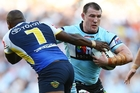 Paul Gallen of the Sharks, who play the first game against the Knights, says his team will just