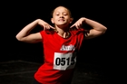 Jemima Pegg, 11, from Christchurch auditions for the Annie musical in Auckland. Photo / Sarah Ivey