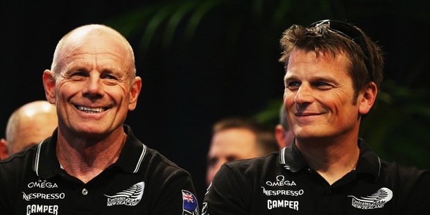 Grant Dalton and Dean Barker are working together more closely than ever. Photo / Getty Images