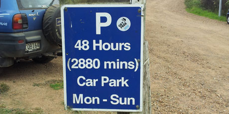 Just in case you wanted to know how many minutes that was. Snapped on Waiheke Island near Matiatia by Tony Smith.