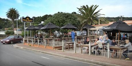 Charlie Farley's is a popular Onetangi bar.