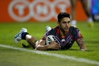 Warriors player Shaun Johnson will be one of the stars at this weekend's Auckland Nines. Photo / Richard Robinson